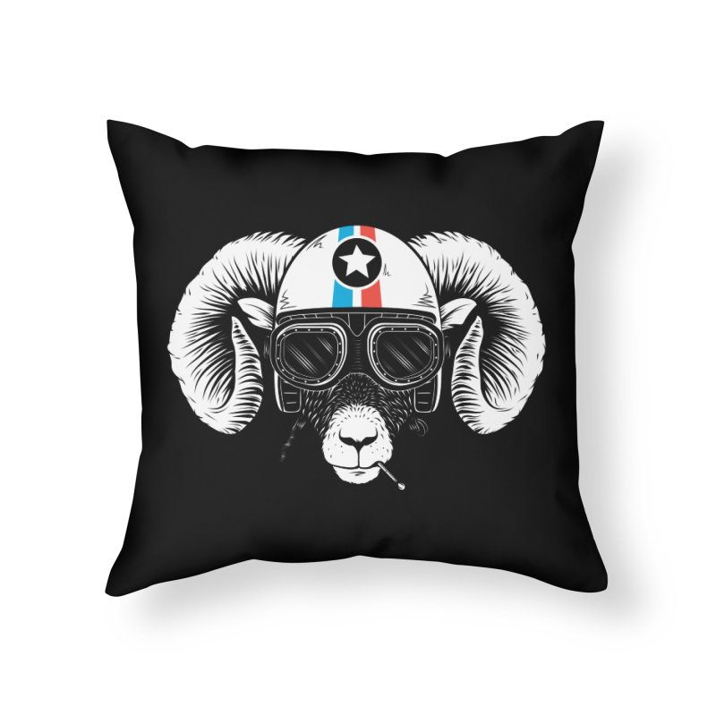 Prep Ramming Speed Home Throw Pillow by heavyhand's Artist Shop