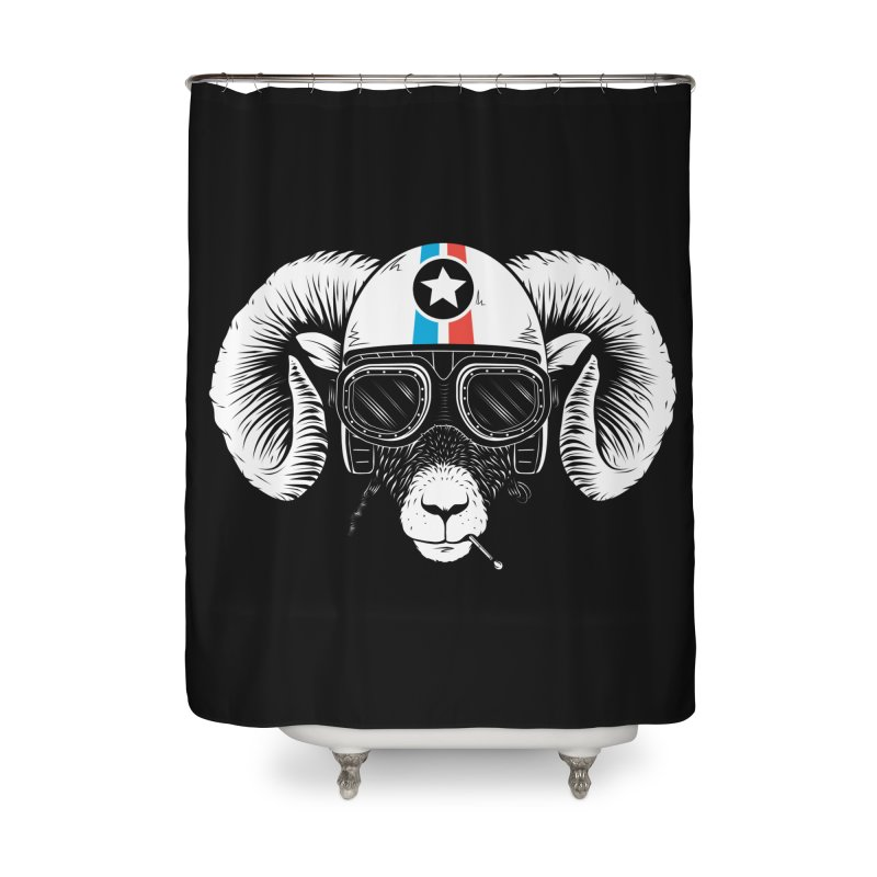 Prep Ramming Speed Home Shower Curtain by heavyhand's Artist Shop