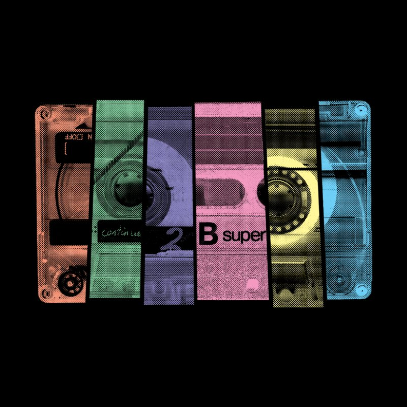 Mix Tape Kids Baby T-Shirt by heavyhand's Artist Shop