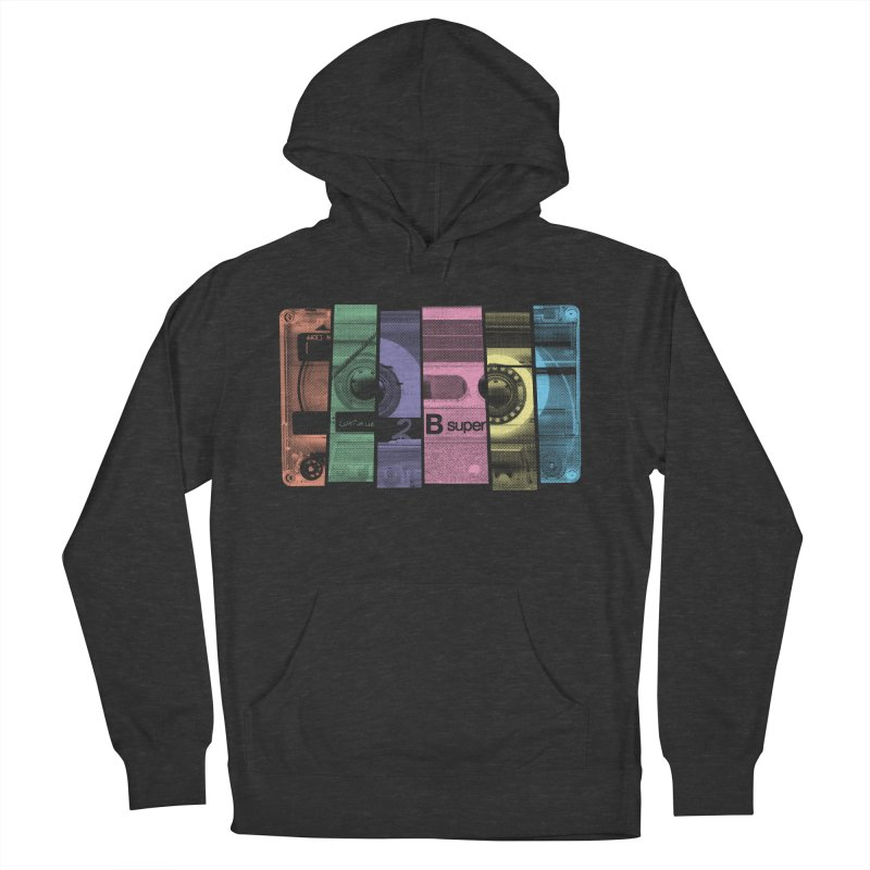 Mix Tape Women's Pullover Hoody by heavyhand's Artist Shop