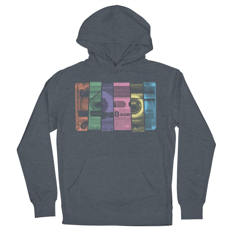 Mix Tape Men's French Terry Pullover Hoody by heavyhand's Artist Shop