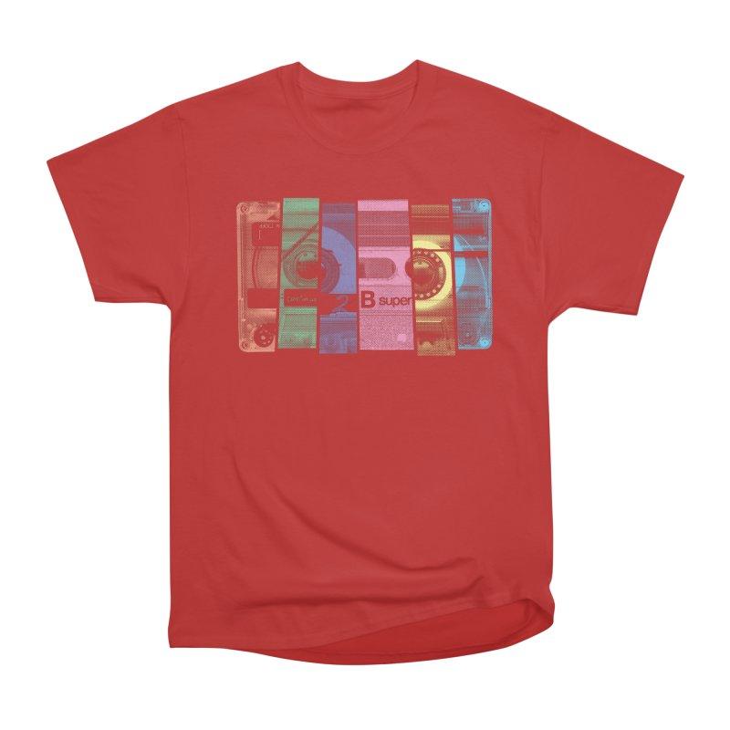 Mix Tape Women's Heavyweight Unisex T-Shirt by heavyhand's Artist Shop