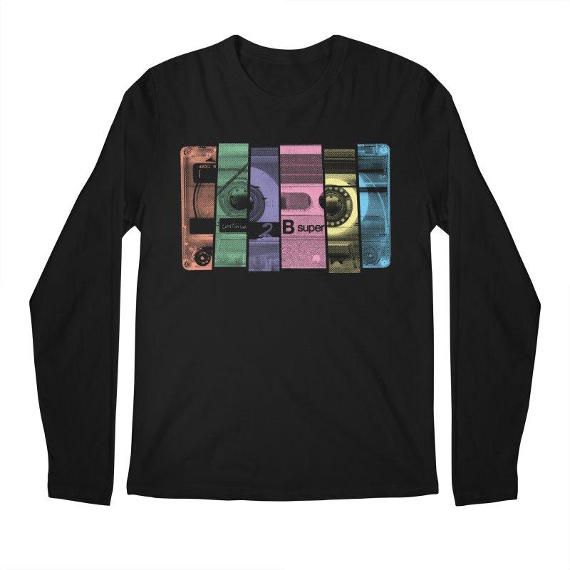 Mix Tape Men's Longsleeve T-Shirt by heavyhand's Artist Shop