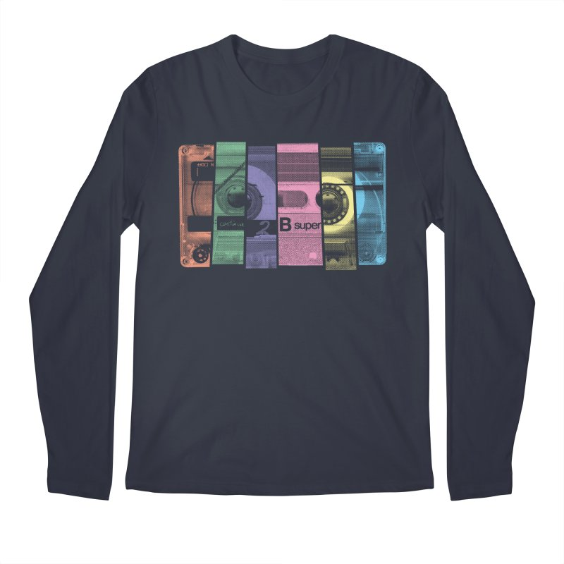 Mix Tape Men's Longsleeve T-Shirt by heavyhand's Artist Shop