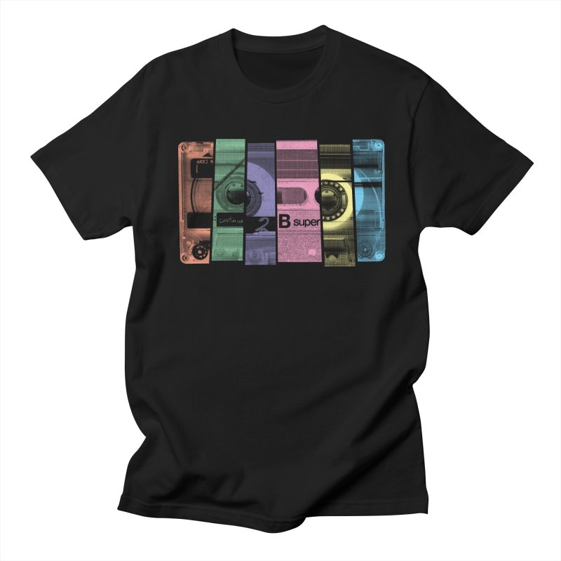 Mix Tape Men's T-shirt by heavyhand's Artist Shop