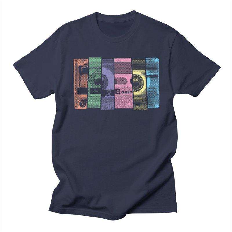 Mix Tape Men's Regular T-Shirt by heavyhand's Artist Shop