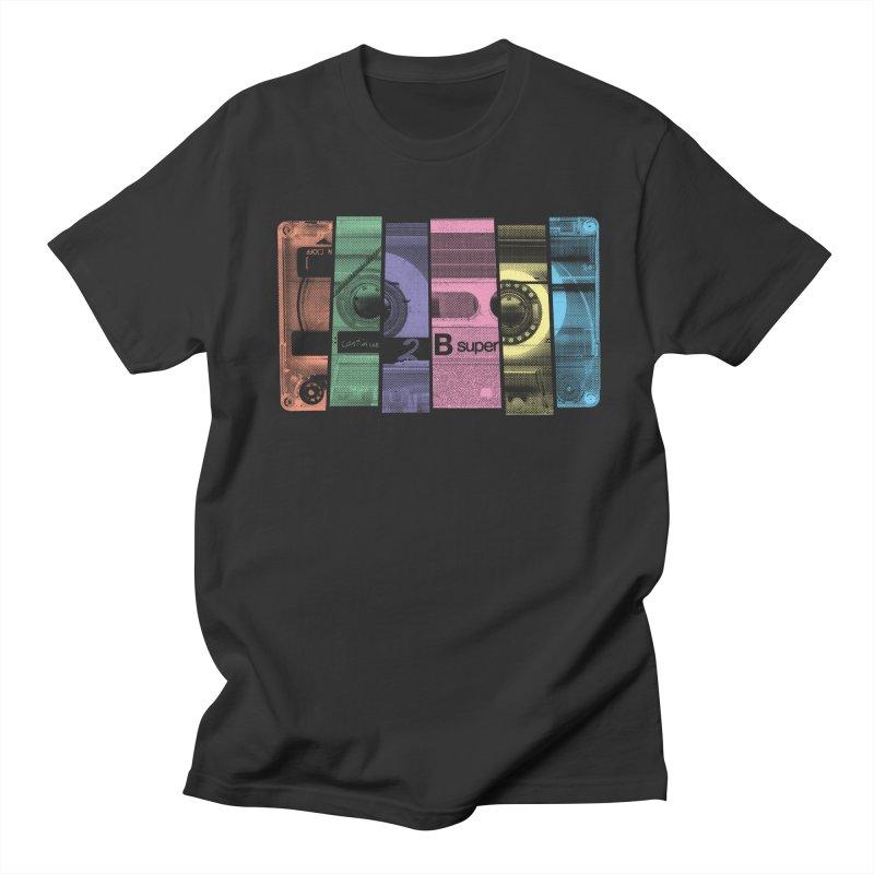 Mix Tape Men's T-Shirt by heavyhand's Artist Shop