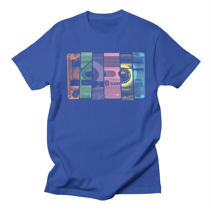 Mix Tape Men's Regular T-Shirt by heavyhand's Artist Shop