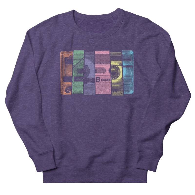Mix Tape Men's French Terry Sweatshirt by heavyhand's Artist Shop