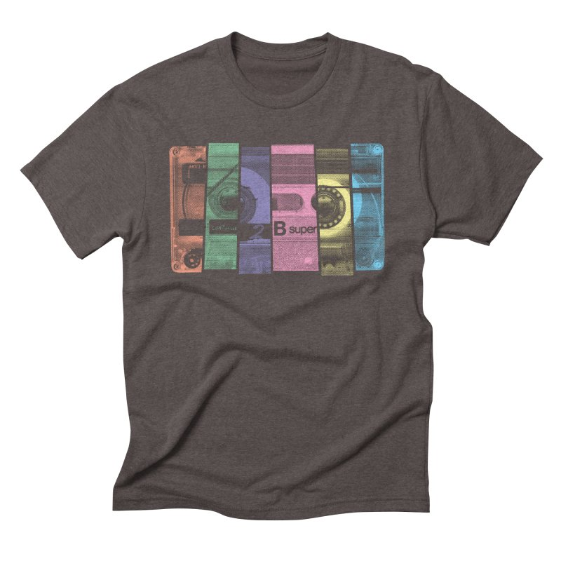 Mix Tape Men's Triblend T-Shirt by heavyhand's Artist Shop