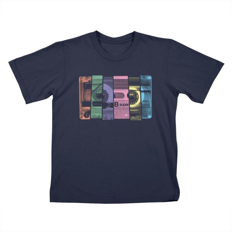 Mix Tape Kids T-Shirt by heavyhand's Artist Shop