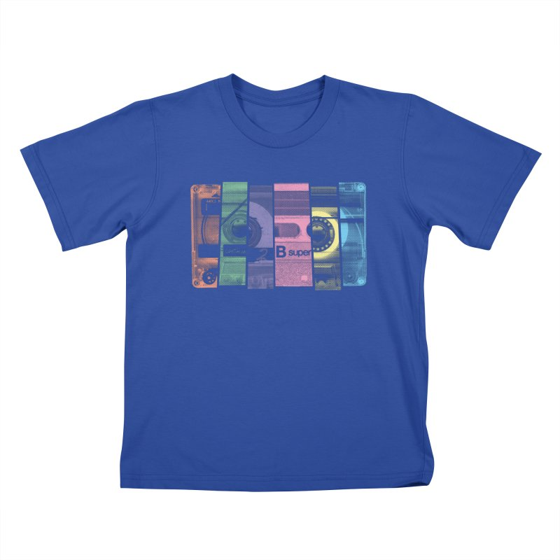 Mix Tape Kids T-shirt by heavyhand's Artist Shop