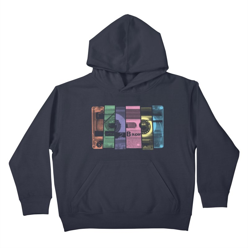 Mix Tape Kids Pullover Hoody by heavyhand's Artist Shop