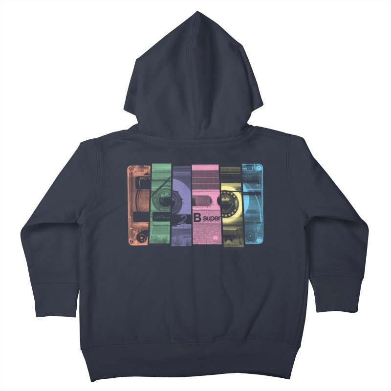 Mix Tape Kids Toddler Zip-Up Hoody by heavyhand's Artist Shop