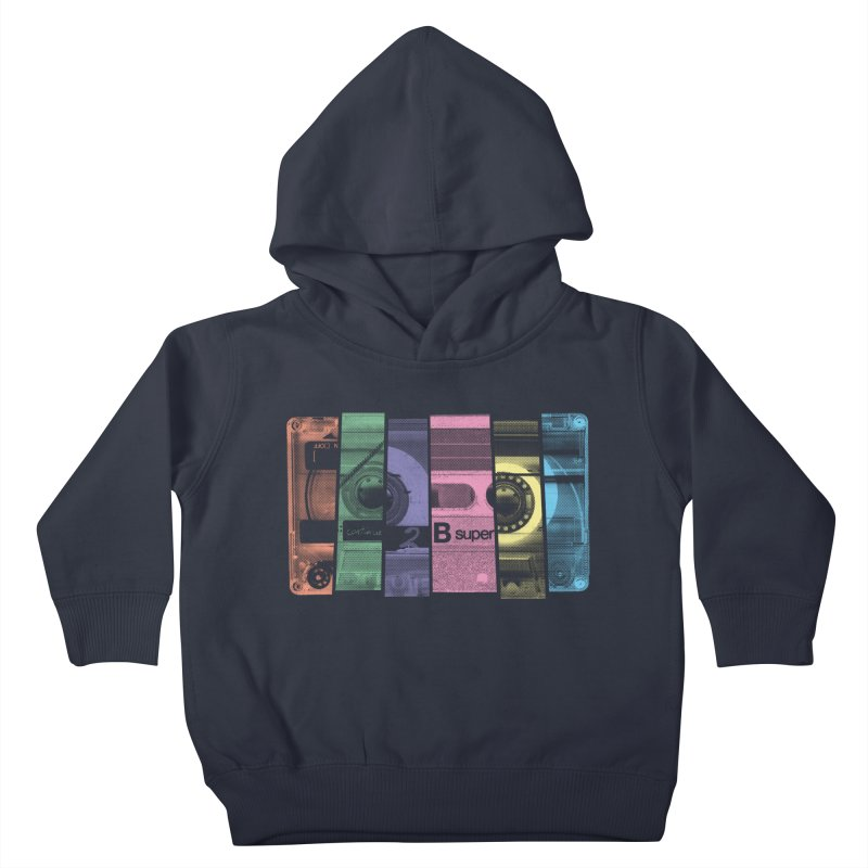 Mix Tape Kids Toddler Pullover Hoody by heavyhand's Artist Shop