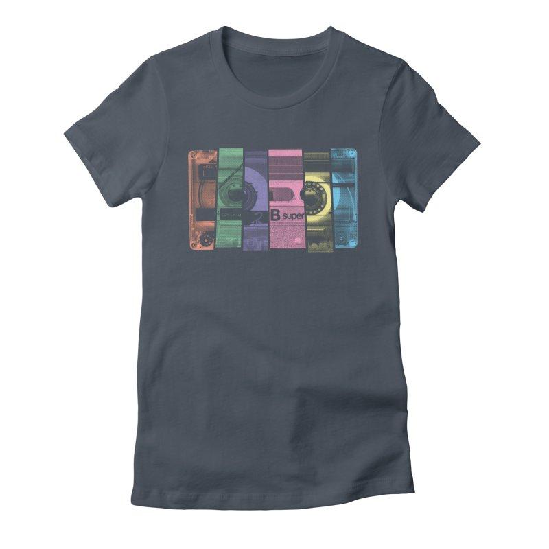 Mix Tape Women's T-Shirt by heavyhand's Artist Shop