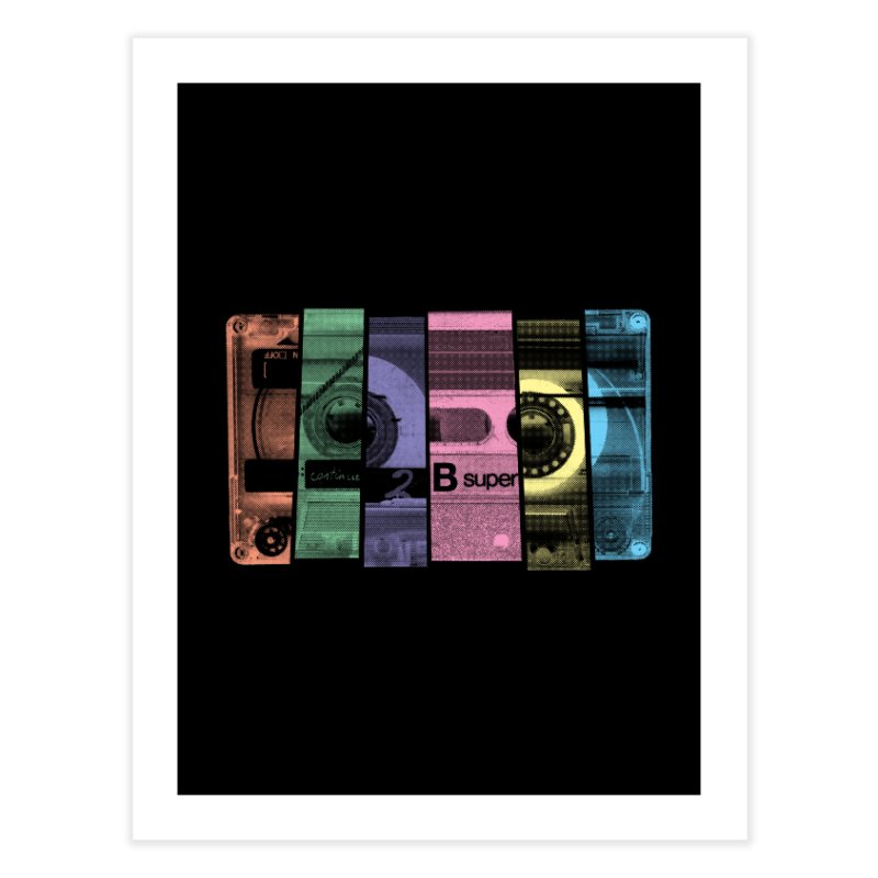 Mix Tape Home Fine Art Print by heavyhand's Artist Shop