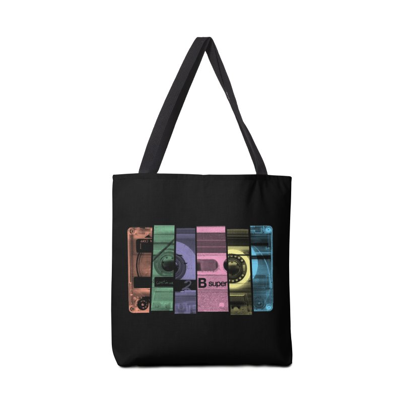 Mix Tape Accessories Bag by heavyhand's Artist Shop