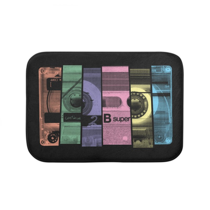 Mix Tape Home Bath Mat by heavyhand's Artist Shop