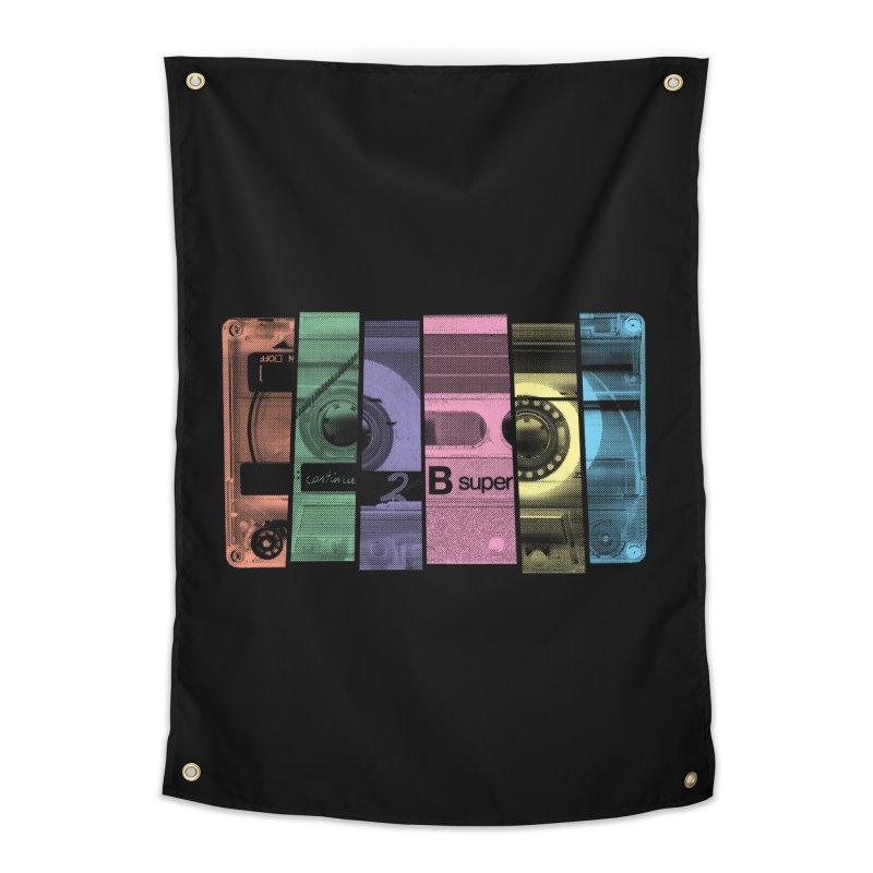 Mix Tape Home Tapestry by heavyhand's Artist Shop