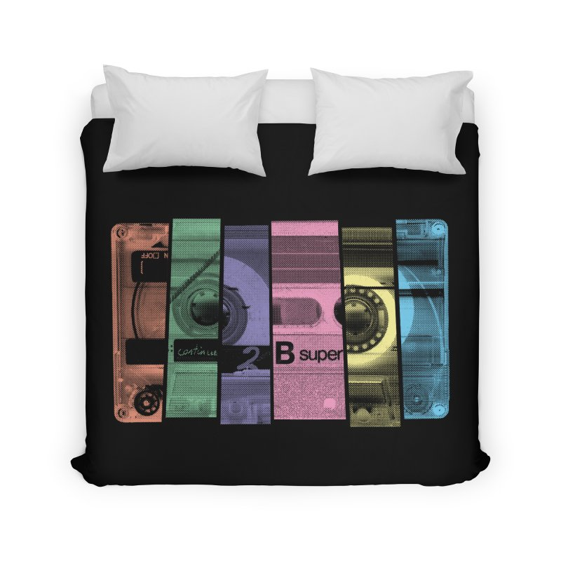 Mix Tape Home Duvet by heavyhand's Artist Shop