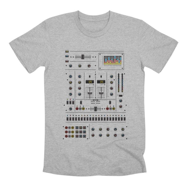 Self Control Mixer Men's Premium T-Shirt by heavyhand's Artist Shop