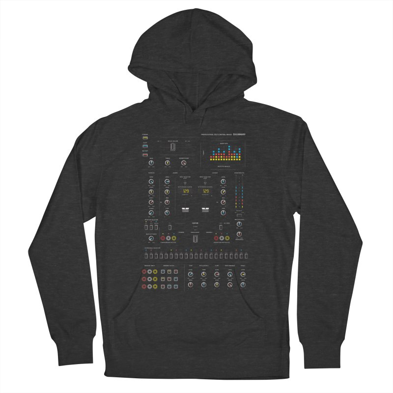 Self Control Mixer Men's Pullover Hoody by heavyhand's Artist Shop