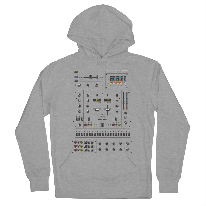 Self Control Mixer Men's French Terry Pullover Hoody by heavyhand's Artist Shop