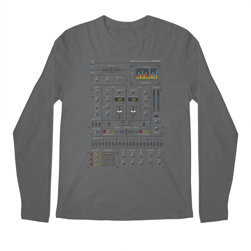Self Control Mixer Men's Longsleeve T-Shirt by heavyhand's Artist Shop
