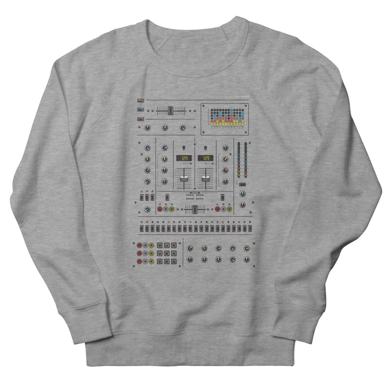 Self Control Mixer Women's French Terry Sweatshirt by heavyhand's Artist Shop