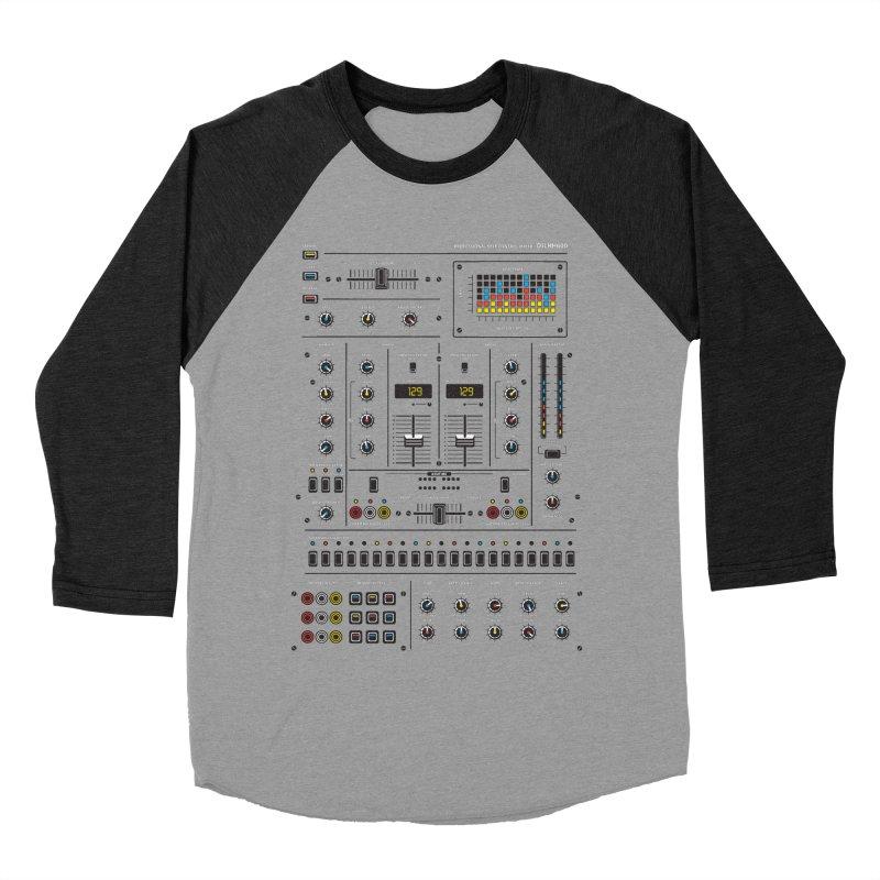 Self Control Mixer Women's Baseball Triblend Longsleeve T-Shirt by heavyhand's Artist Shop