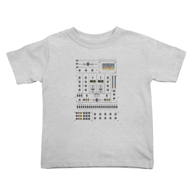 Self Control Mixer Kids Toddler T-Shirt by heavyhand's Artist Shop