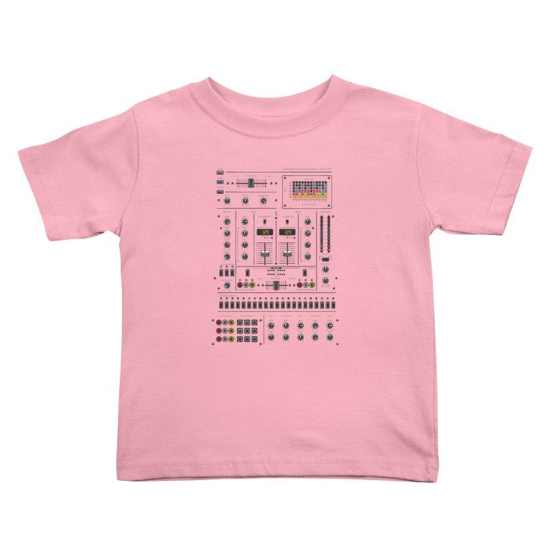 Self Control Mixer Kids Toddler T-Shirt by heavyhand's Artist Shop