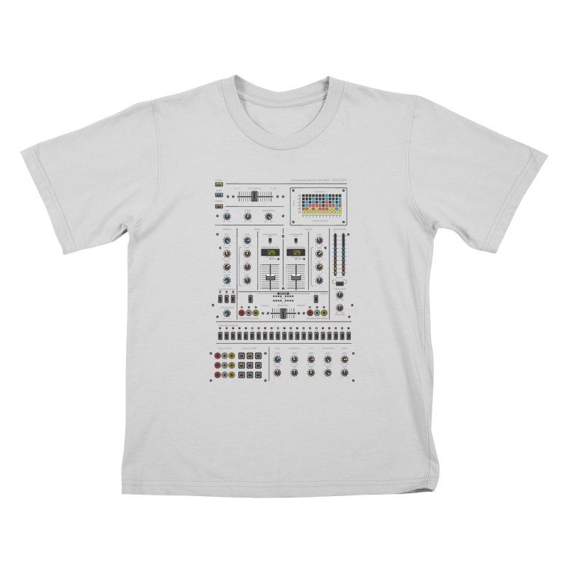 Self Control Mixer Kids T-Shirt by heavyhand's Artist Shop