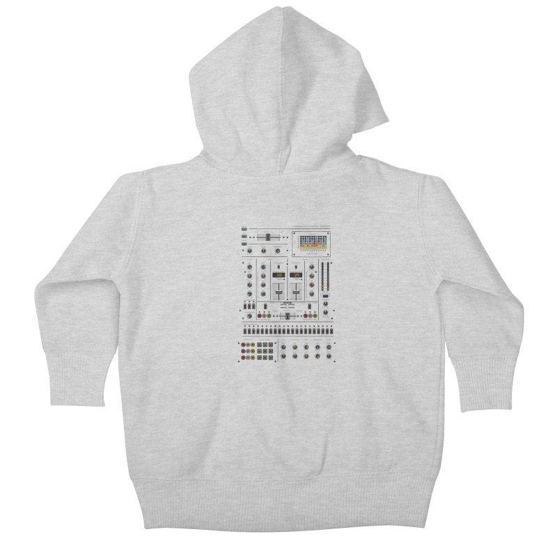 Self Control Mixer Kids Baby Zip-Up Hoody by heavyhand's Artist Shop