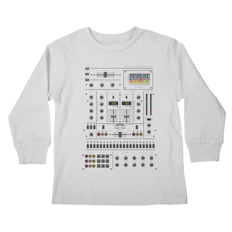 Self Control Mixer Kids Longsleeve T-Shirt by heavyhand's Artist Shop