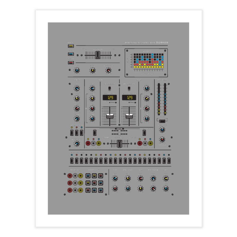 Self Control Mixer Home Fine Art Print by heavyhand's Artist Shop