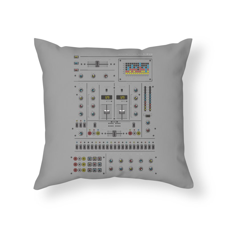 Self Control Mixer Home Throw Pillow by heavyhand's Artist Shop