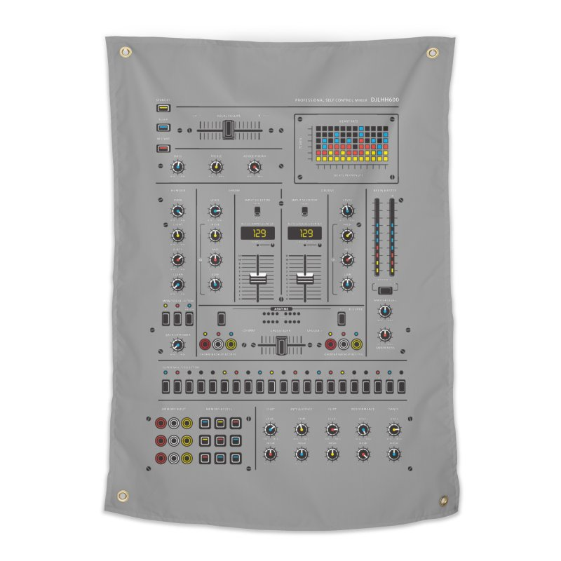 Self Control Mixer Home Tapestry by heavyhand's Artist Shop