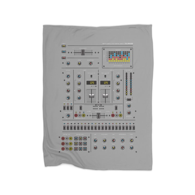 Self Control Mixer Home Blanket by heavyhand's Artist Shop