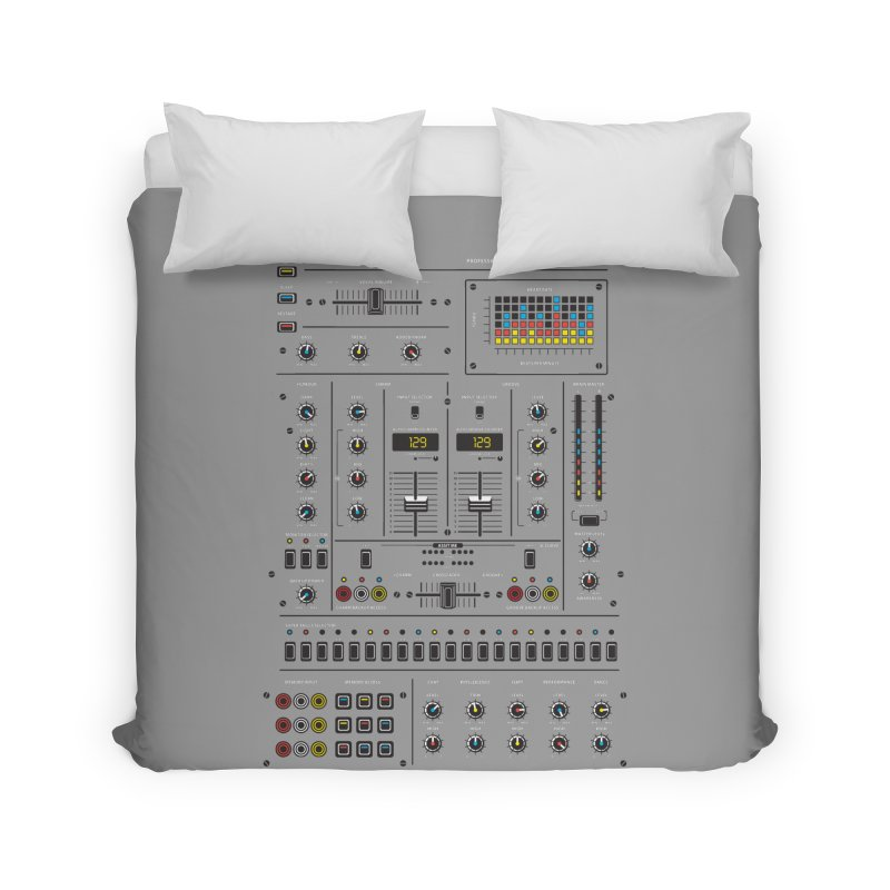Self Control Mixer Home Duvet by heavyhand's Artist Shop