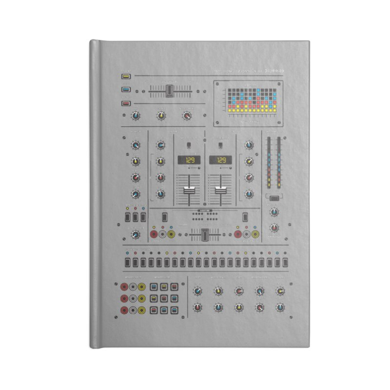 Self Control Mixer Accessories Notebook by heavyhand's Artist Shop