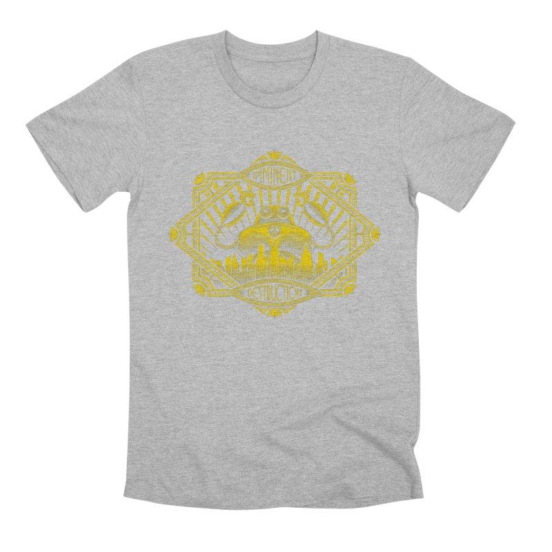Imminent Destruction Men's Premium T-Shirt by heavyhand's Artist Shop