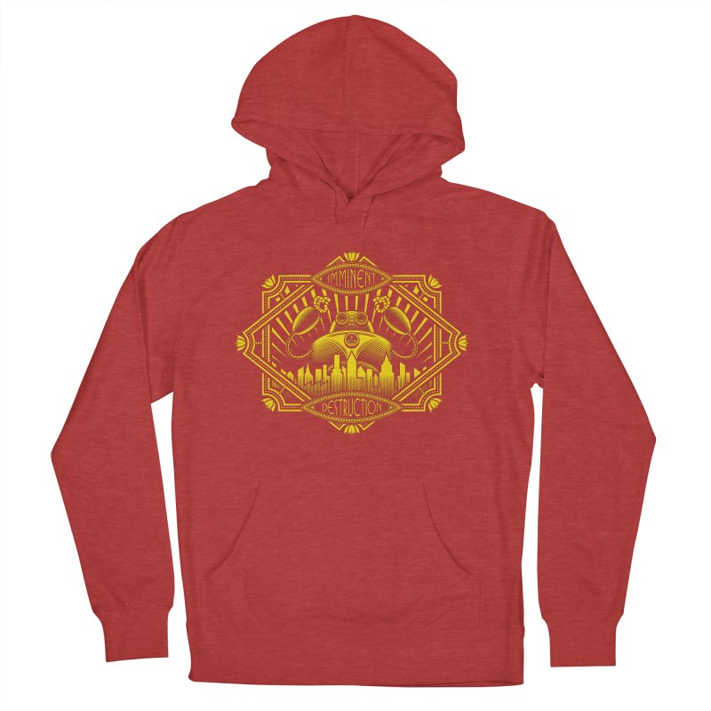 Imminent Destruction Women's Pullover Hoody by heavyhand's Artist Shop