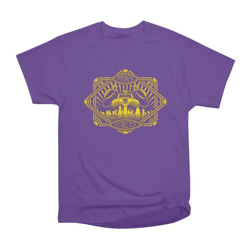 Imminent Destruction Women's Heavyweight Unisex T-Shirt by heavyhand's Artist Shop