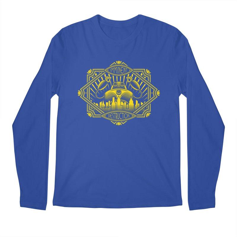 Imminent Destruction Men's Longsleeve T-Shirt by heavyhand's Artist Shop