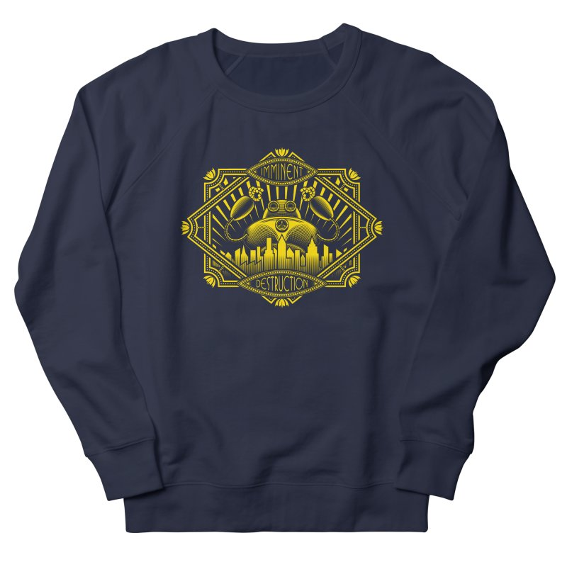 Imminent Destruction Men's Sweatshirt by heavyhand's Artist Shop