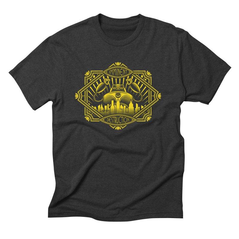 Imminent Destruction Men's Triblend T-Shirt by heavyhand's Artist Shop