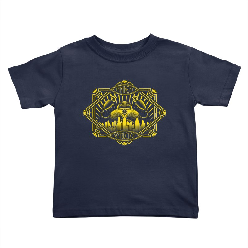 Imminent Destruction Kids Toddler T-Shirt by heavyhand's Artist Shop
