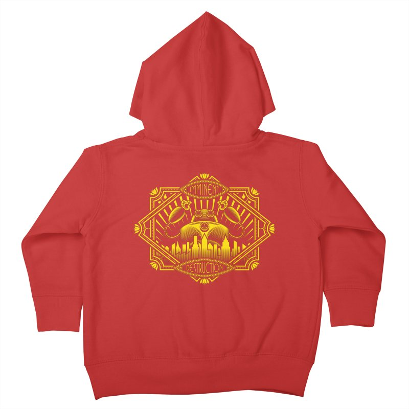 Imminent Destruction Kids Toddler Zip-Up Hoody by heavyhand's Artist Shop